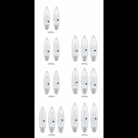 WAAL SURF GRIP 3.0 LONGBOARD PACK 90 - 8' TO 9'